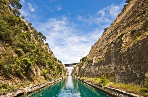 Corinth Canal Carnival Cruise Line