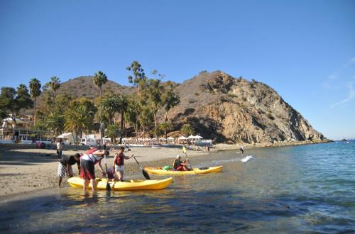 Catalina Kayak Expedition in Catalina Island, CA
