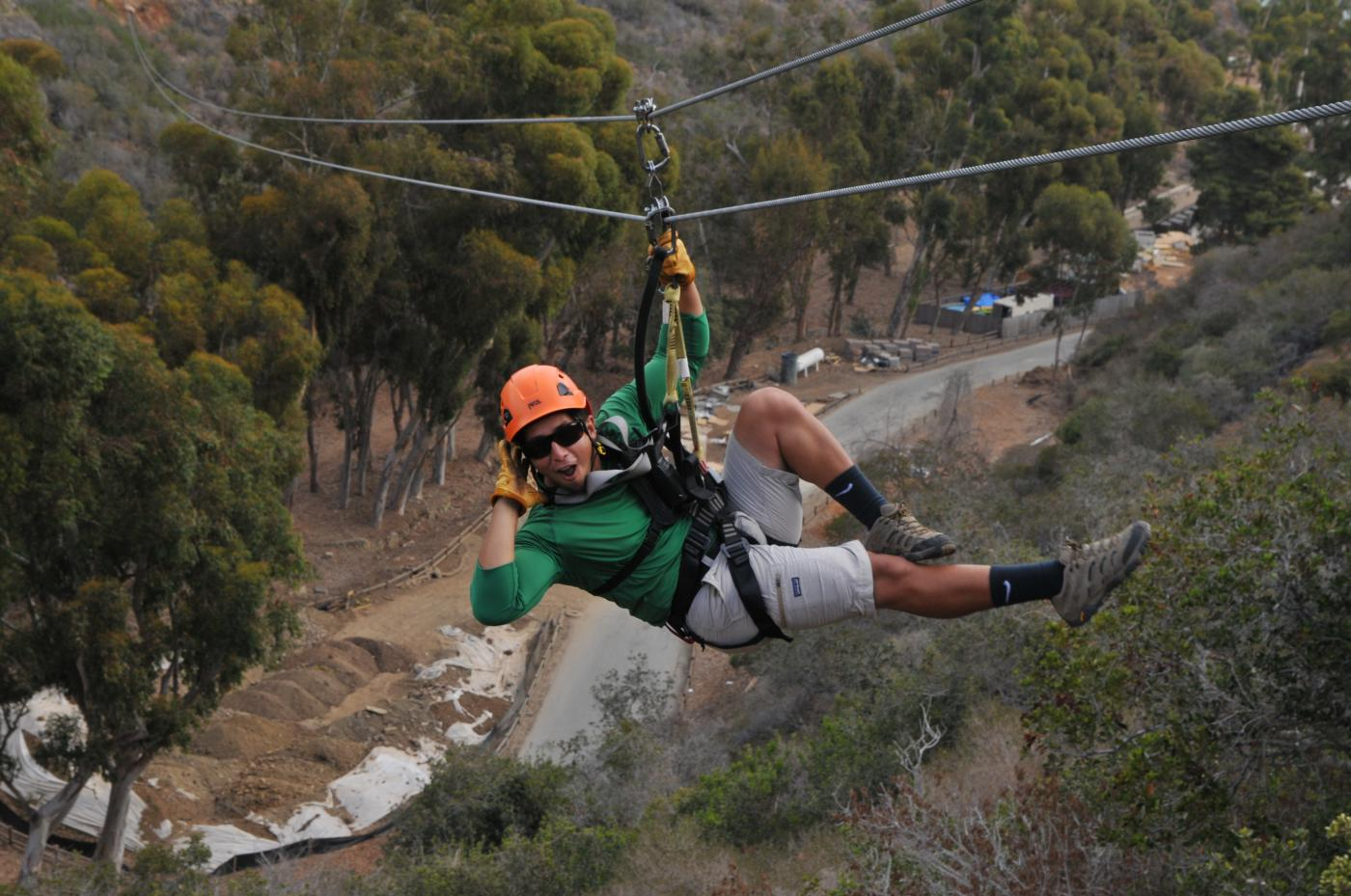 Catalina Zipline Adventure in Catalina Island, CA