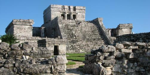 Mayan Ruins Of Tulum in Cozumel, Mexico