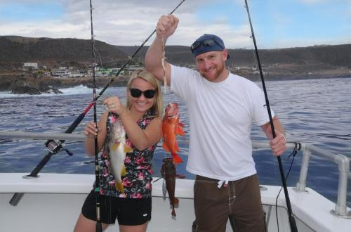 Deep Sea Fishing in Ensenada, Mexico