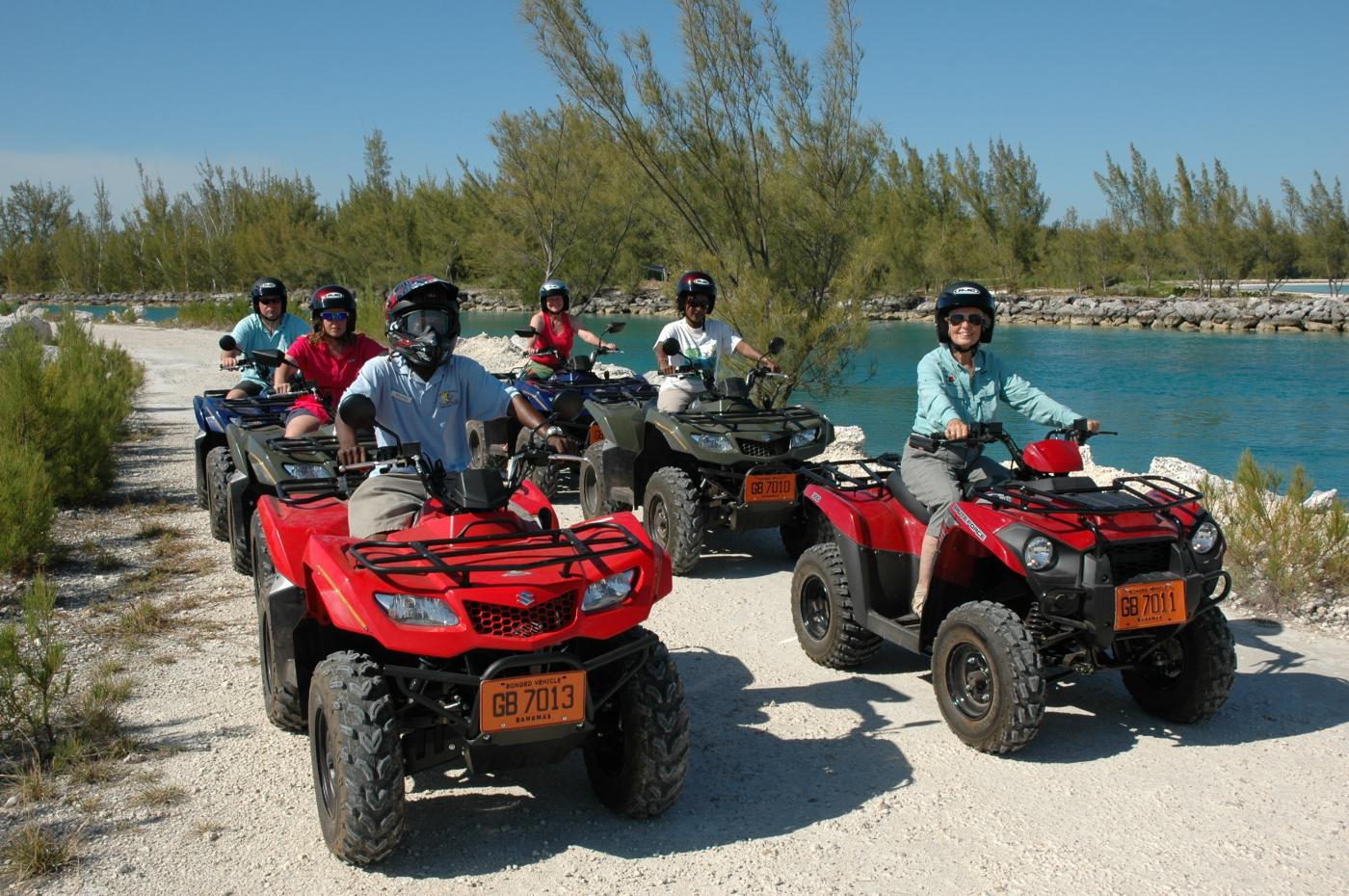 Off Road ATV, Tropical Garden And Beach Break in Freeport, The Bahamas