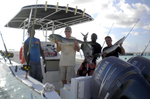 Deep Sea Fishing Expedition in Grand Turk