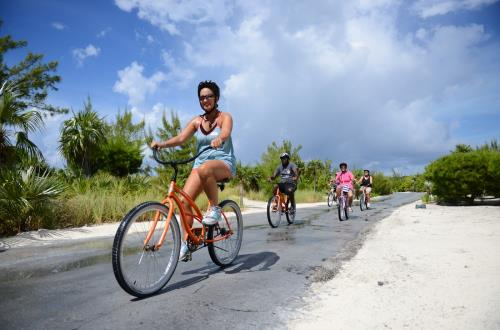 Combo, Eco Bike & Hike Tour in Half Moon Cay, The Bahamas