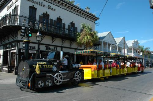 The World Famous Conch Tour Train-Hop On, Hop Off in Key West, FL