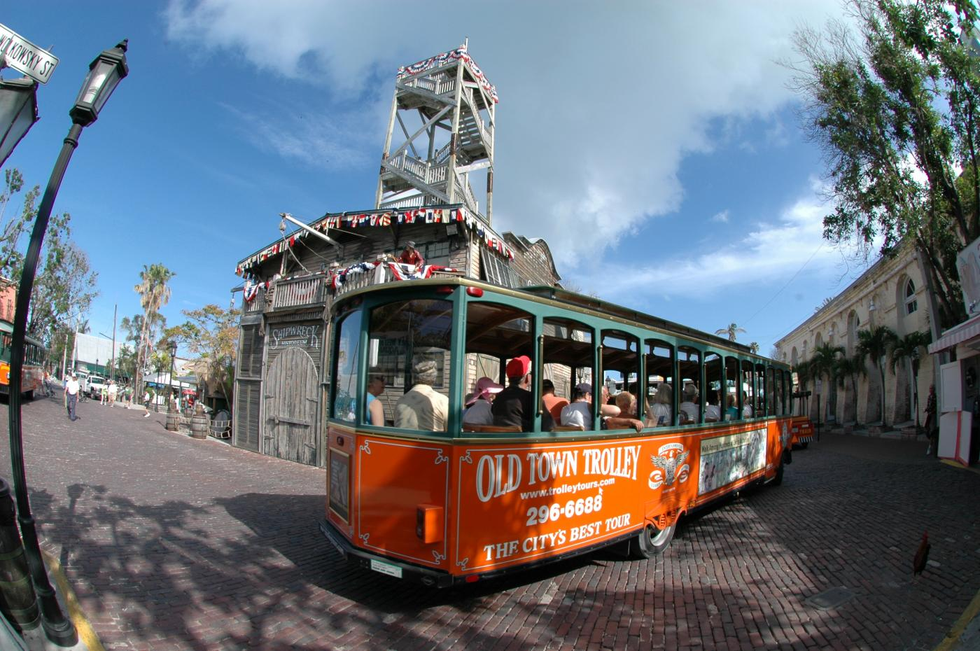 Old Town Trolley Tour - Hop On, Hop Off in Key West, FL