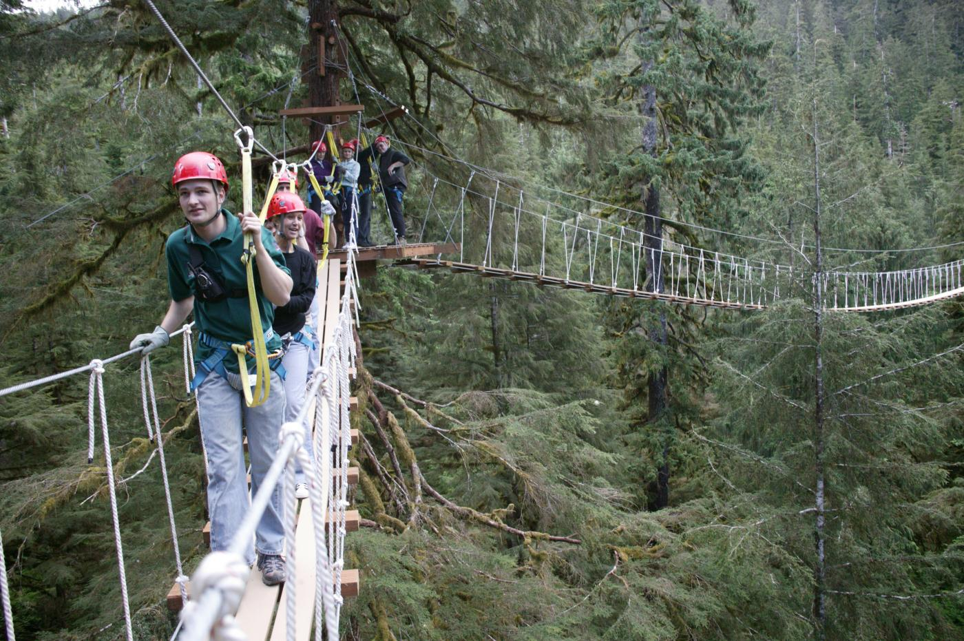 Canopy Adventure & Wildlife Expedition in Ketchikan, AK