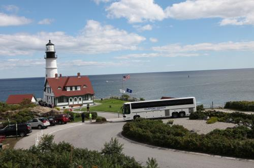 Lighthouses of Maine in Portland, Maine