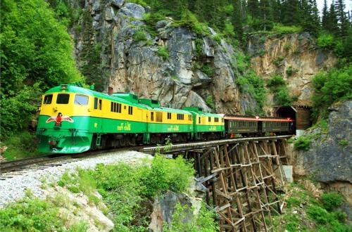 White Pass Train & Bike Tour in Skagway, AK
