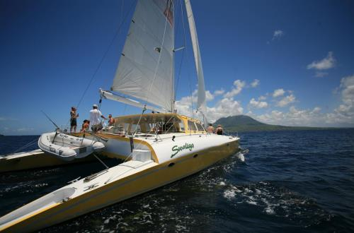 Sail & Snorkel Adventure in St Kitts, WI