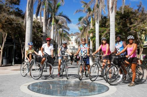 Historical Philipsburg By Bicycle in St. Maarten, NA