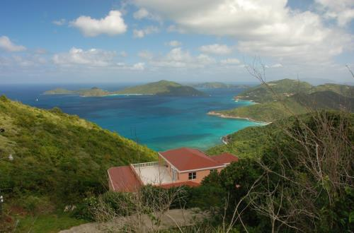 Town & Country Drive in Tortola,British Virgin Islands
