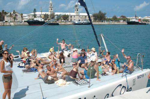 Ultimate Catamaran: Sail, Snorkel, Swim in King's Wharf, Bermuda