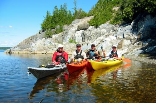 Coastal Kayak & Lobster Bake in Saint John, Nb, Canada