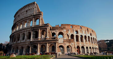 visit the famous colosseum while in europe