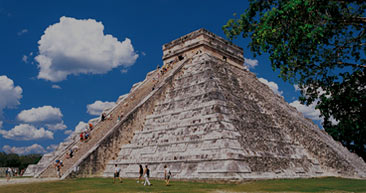 explore the mayan ruins while in mexico