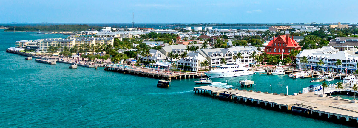 waterfront views in key west