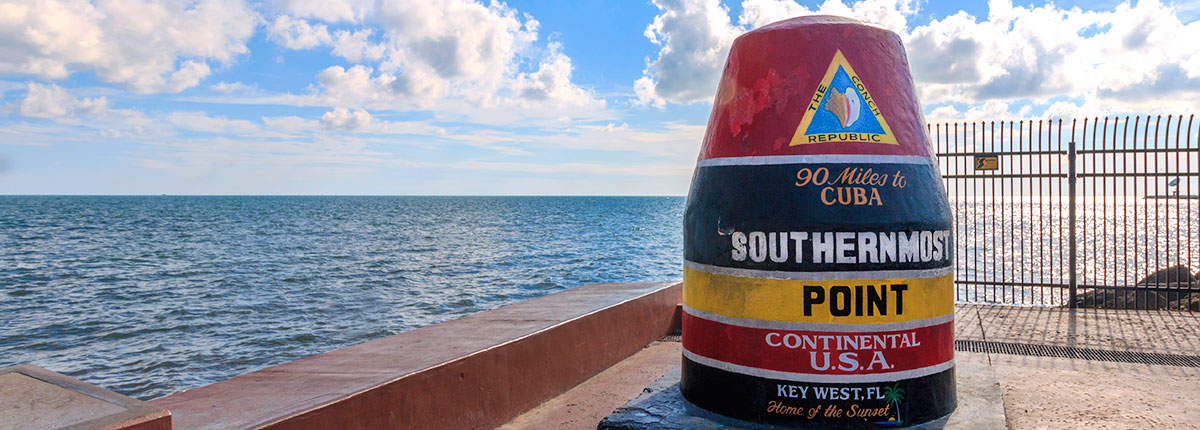 southernmost point buoy in the united states