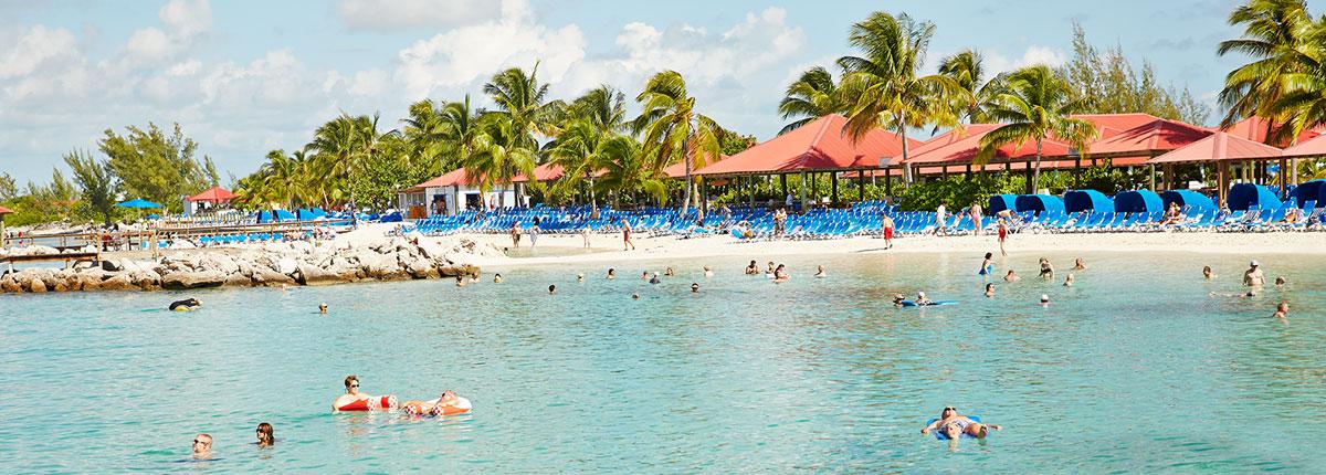 Cruise To Princess Cays Bahamas Vacations Carnival