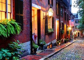 take a stroll through the historic streets of boston